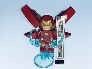 LEGO MARVEL GENUINE IRON MAN AND ACCESSORIES SPLIT FROM SET 76167 - NEW
