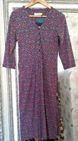 BN SEASALT Ladies Floral Daisy 100% Cotton TRENNICK Hippy Boho Dress UK 8