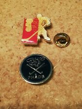 2 Pin's Pins sports Hockey phads