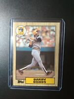 1987 Topps #320 Barry Bonds Pittsburgh Pirates RC Rookie