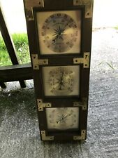 vintage thermometer barometer humidty meter