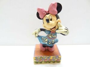 """Minnie Mouse """"Call Me"""" Disney Traditions Jim Shore Figurine"""