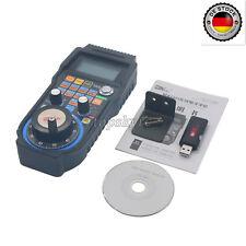 4-Axis CNC MACH3 Wireless Electronic Handwheel Manual Controller USB MPG EU