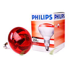 Philips Infrared Industrial Heat Bulb BR125 250W 230-250V Lamp Red Light Medical