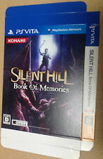Silent Hill: Book of Memories Japan Kiosk Dummy Paket nicht zum Weiterverkauf Vita selten