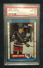 1989-90 Topps #136 Brian Leetch RC PSA 10