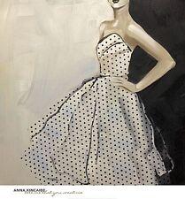 FASHION ART PRINT Tell Me That You Want Me Anna Kincaide