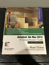 AUTODESK 3DS MAX 2014: A COMPREHENSIVE GUIDE By Cadcim Technologies *Excellent*