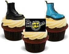 12 Novelty Doctor Dr Martens Boots Trio Edible Cupcake Cake Toppers Decorations