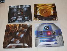 Star Wars Set of 4 Square Platters - BRAND