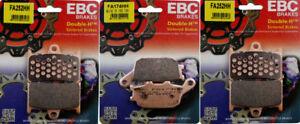 EBC HH Front & Rear Brake Pads Set Yamaha FZ-07, FZ-09 FJ09 XSR FA252HH FA174HH
