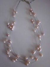 Markenlose Modeschmuck-Halsketten & -Anhänger im Collier-Stil mit Perle für Damen