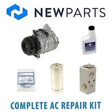 For BMW E39 528i 98-00 NEW A/C Repair KIT w/ Compressor & Clutch Complete OEM