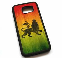 For Samsung Galaxy Note 2 3 4 5 8 Case Cover Rasta Lion N623