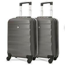 Aerolite ABS carcasa Rígida ligera 4 ruedas Carry on Cabin maleta equipaje de m