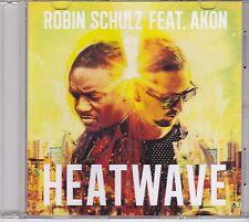Robin Schulz feat Akon-Heatwave Promo cd single
