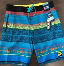 Pelagic Board Shorts - Micro-Tek Island Time