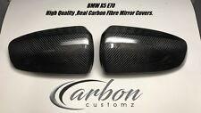 BMW X5 E70 Real Carbon Fibre Mirror Covers Full Replacement Style E70 2007-2013