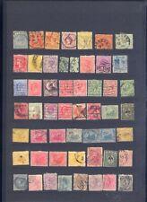 sehr alte exotische Briefmarken auf A4 Steckkarte weltweit 3