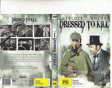 Sherlock Holmes:Dressed To Kill-1946-Basil Rathbone-Movie-DVD