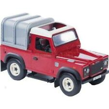 Britains 2707A2 Big Farm Land Rover Defender 90 in Red Back Canopy Childrens Toy