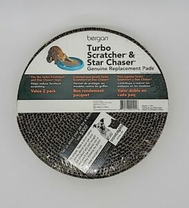 Bergan Turbo Scratcher & Star Chaser Replacement Pads - 2 Pack