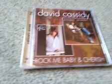 David Cassidy ~ Rock Me Baby & Cherish CD BRAND NEW & FACTORY SEALED