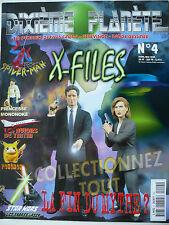 Magazine (très bel état) - Dixième planète 4 (spécial X-files)