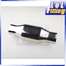 "Universal 3"" 100 Cell High Flow Metallic-Core Race Catalytic Converter"