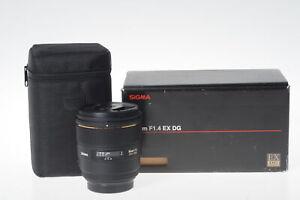 Sigma AF 85mm f1.4 EX DG HSM Lens Minolta Sony #284