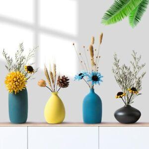 Nordic Ceramic Vase Flower Arrangement Dried Flower Simple Flower Vase Decor