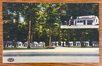 DARLINGTON MARYLAND GLEN ECHO LODGE ON US ROUTE 1 LINEN POSTCARD H27