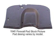 1937 Hudson Terraplane Flat Firewall Pad