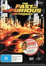 THE FAST AND THE FURIOUS TOKYO DRIFT - DVD R4 (2006) VG FREE POST