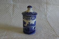 Spode Italian Parsley Herb Spice Jar