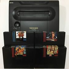 NEO GEO AES SNK ENGLISH REV - VERY LOW SERIAL + 4 ENGLISH TITTLES - METAL SLUG +
