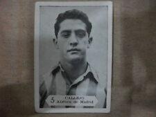 CROMO Nº 5 CALLEJO ATLÉTICO DE MADRID TEMPORADA 1958-59