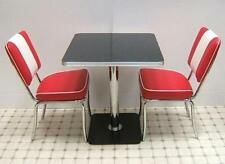 Bel Air Retro Furniture 50s Style Diner Mini Kitchen Table Chair Seating Set