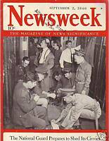 1940 Newsweek September 2-Trotsky killed in Mexico;