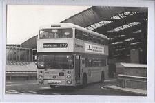 (M39) Real Photo of West Yorkshire PTE Bus at Bradford, Reg SUA 9R - Plain Back