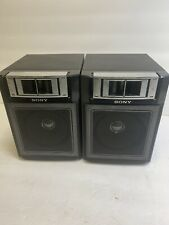 Sony CFS-1000 AM FM Stereo Radio Cassette Boombox Left And Right Speaker Working