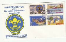 BARBADOS BOY SCOUT 1969 FIRST DAY  COVER. Rfno.C126.