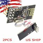 2X 2PCS Arduino NRF24L01+ 2.4GHz Wireless RF Transceiver Module New