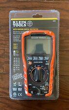 Klein Tool Mm600 Digital Multimeter Auto Ranging 1000v Brand New Sealed