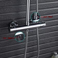 Douche thermostatique robinet mitigeur salle de bains exposé Twin Outlet