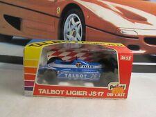 VINTAGE POLISTIL / F1 - TALBOT LIGIER JS17 - 1/25 SCALE MODEL CAR SN53 CIRCA '82