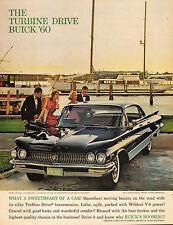 1960 Classic Car Ad '60 BUICK ELECTRA 225 Riviera Sedan Shiny Black !  122915