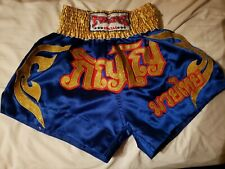TWINS SPECIAL Muay Thai Boxing Shorts Kickboxing Size L