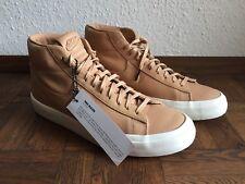 Nike NikeLab Blazer Premium Leder Nike lab 44,5 10,5 Leather Tan Nude Brown