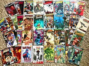 Huge Lot 41 Comics ALL Marvel 1980s & Later Daredevil Iron Fist Spiderman More!